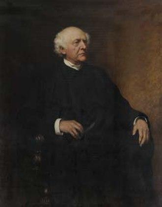 Henry Liddell - Henry Liddell, in an 1891 portrait by Sir Hubert von Herkomer