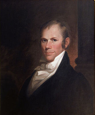 Henry Clay - Portrait by Matthew Harris Jouett, 1818