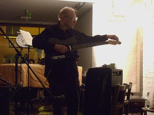 Henry Flynt - Henry Flynt at the Cafe Oto in October 2008.