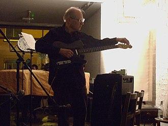 Henry Flynt - Henry Flynt at the Cafe Oto in October 2008.