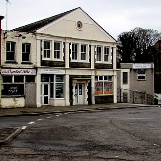 Pontypool Free Press - Former offices of the Pontypool Free Press