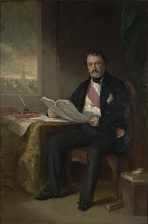 Henry Pottinger - Portrait of Pottinger by Francis Grant, 1845