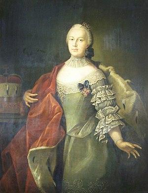 Christiane Sophie Charlotte of Brandenburg-Bayreuth - Image: Herzogin Christiane Charlotte von Sachsen Hildburghausen