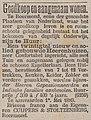Het Nieuws van den Dag no 3969 advertisement Een twintigtal nieuw en solied gebouwde Heerenhuizen nabij de schoone Kapellerlaan.jpg