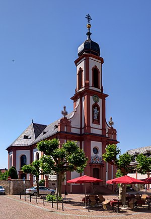 Balthasar Neumann - St. Cäcilia, parish church at Heusenstamm