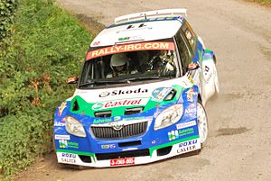 Spanish Rally Championship - Alberto Hevia, the 2010 Spanish champion