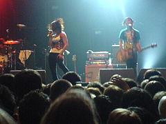 Hey Monday supporting Fall out Boy in March 2009.jpg