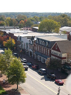 Chestertown, Maryland Town in Maryland, United States