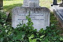 Highgate Cemetery - East - Leslie Hutchinson 02.jpg