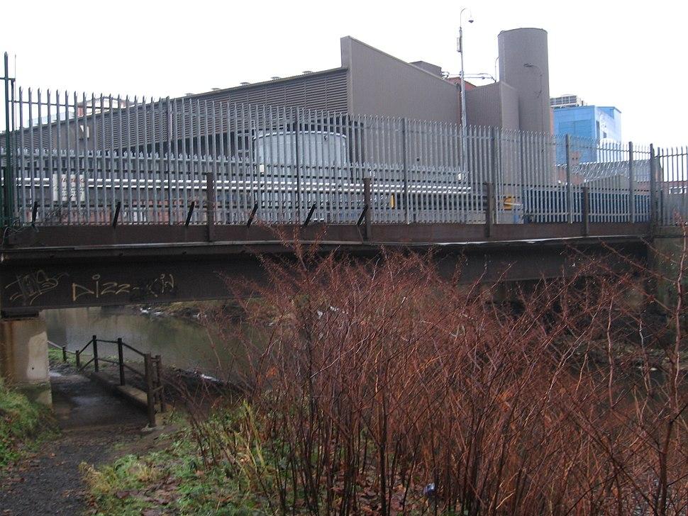 Hillsborough - Cadbury factory bridge (west)