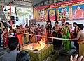 Hindu priests performing yagna.jpg