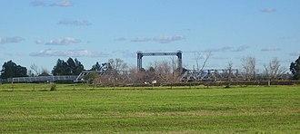 Hinton, New South Wales - Historic Hinton bridge, built in 1901
