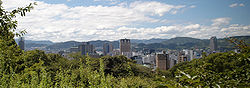 View of Hiroshima City from Mount Hiji