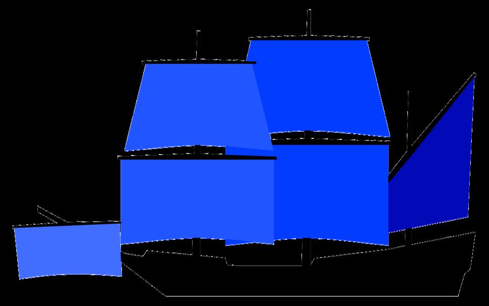 Historic fully rigged ship sail plan