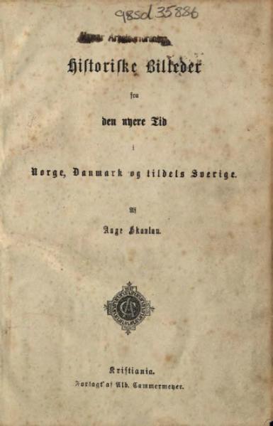 File:Historiske Billeder fra Norge, Danmark og Sverige.djvu