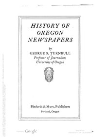 History of Oregon Newspapers.pdf