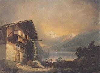 Hilterfingen - Hodler - Charlet in Hilterfingen - 1871