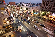 Hollywood Boulevard, Los Angeles California
