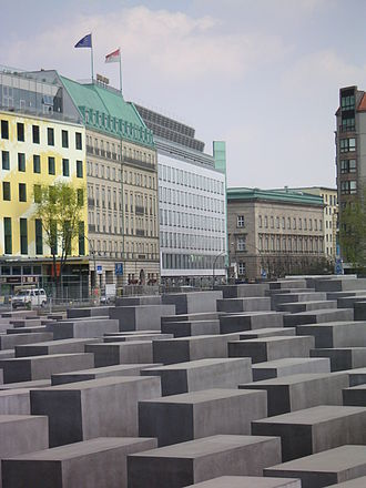 Memorial to the Murdered Jews of Europe - Image: Holocaust Mahnmal Berlin Stelenfeld