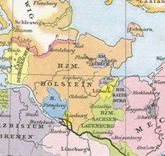 Holstein - Duchy of Holstein in the 15th century