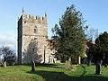 Holy Trinity Church at Holdgate, Shropshire - geograph.org.uk - 671800.jpg
