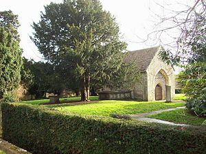 History of Swindon - Holy Rood Church