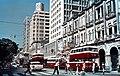 Hong Kong Telephone Building 九龍電話大廈 Nathan Road 彌敦道 Manson House 文遜大廈 Cheong Hing Store & Gingle's Restaurant, 1962.jpg