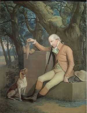 Sir Horatio Mann, 2nd Baronet - Horatio Mann and his Hound by Hugh Douglas Hamilton.