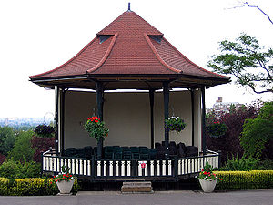 Bandstand - A bandstand built in 1912 stands in the grounds of the Horniman Museum in London