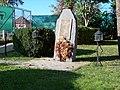 Hostivař, U branek, sokolský pomník padlým a umučeným.jpg