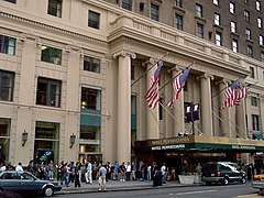 Hotel Pennsylvania, 7th Avenue entrance (edited).jpg