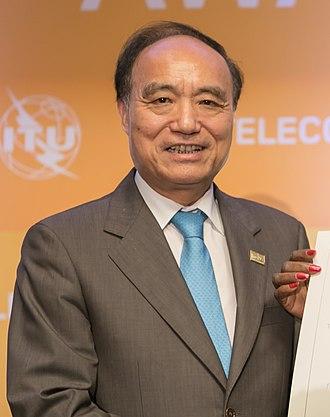 Houlin Zhao - Zhao in 2017