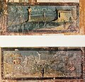House of the Prince of Naples in Pompeii Plate 161-162 Exedra South Wall Pinax MH.jpg