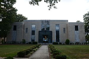 Howard County, Arkansas - Image: Howard County Courthouse, 1 of 3