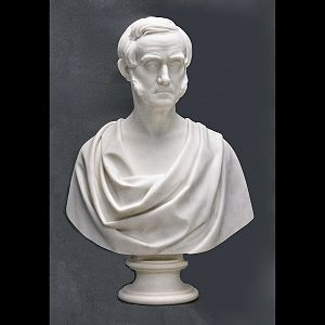 Howard Newman - Restoration of a marble bust of Alexis Caswell