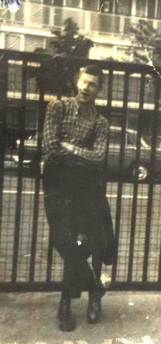 Skinhead - Hoxton Tom McCourt, a revival skinhead pictured in 1977