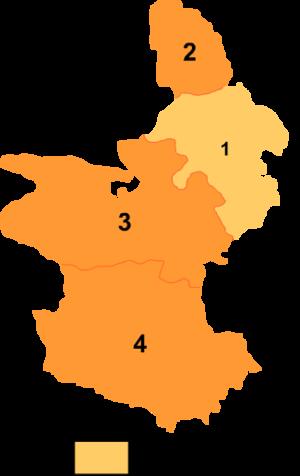 Huangnan Tibetan Autonomous Prefecture - Image: Huangnan mcp