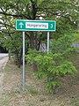 Hungaroring directional road sign, Gödöllői Road, 2020 Mogyoród.jpg