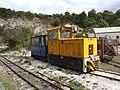 Hunslet diesel loco Amberly Chalk pits working museum.jpg