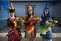 ISS-34 Women in ceremonial Kazakh dress.jpg