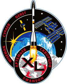Description de l'image ISS Expedition 40 Patch.png.