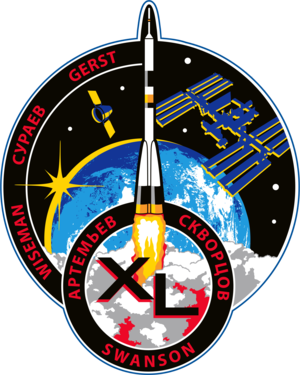 Expedition 40 - Image: ISS Expedition 40 Patch