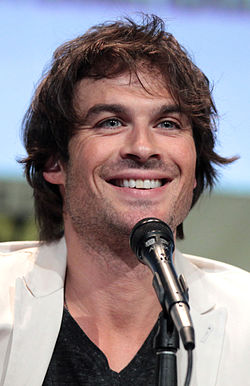 Ian Somerhalder San Diegon Comic-Conissa 2015.