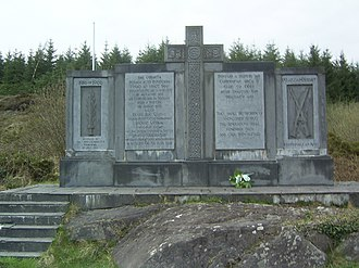 Tom Barry (soldier) -  The Kilmichael memorial