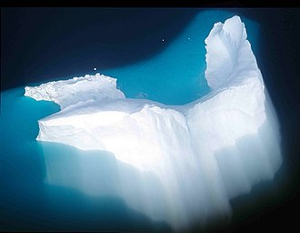 Introspection illusion - The surface appearance of an iceberg is often used to illustrate the human conscious and unconscious mind; the visible portions are easily noticed, and yet their shape depends on the much larger portions that are out of view.