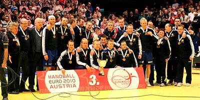 Iceland is jubilant (01) - 2010 European Men's Handball Championship.jpg