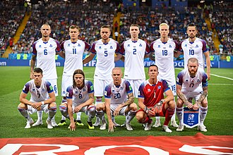 Iceland national football team - World Cup team 2018.