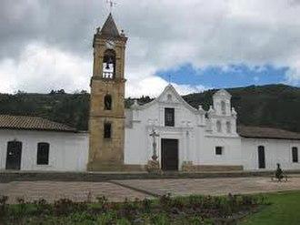 Gachancipá - Image: Iglesia San Bartoleme Apostol