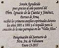 Iglesia de San Antonio de Arma, placa de Sonsón.jpg