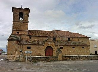 Moriscos, Salamanca - Church of San Pedro Apostle in Moriscos